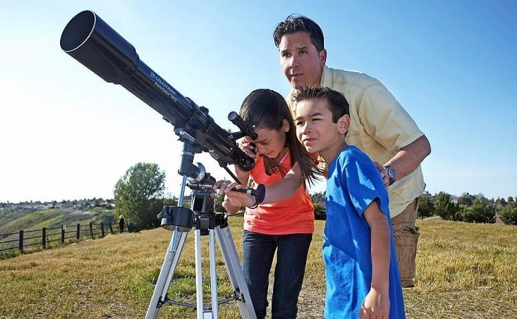 HOW TO USE A TELESCOPE FOR KIDS?